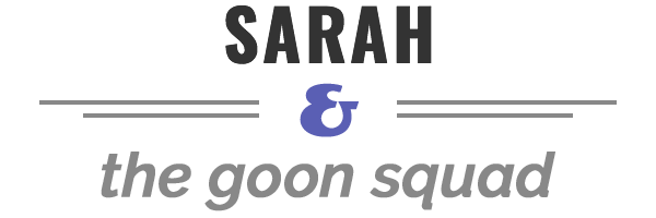 Sarah & the goond squad logo